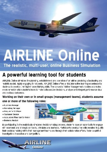 Download our information pack - Simulate.aero