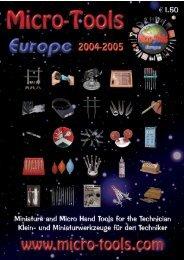 MTE Catalog 2004 - Micro-Tools