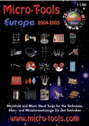 MTE Catalog 2004 - Micro-Tools