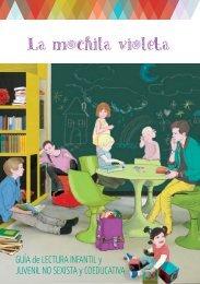 Guía de lectura infantil La mochila violeta