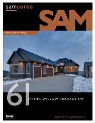 61SPRING WILLoW TeRRACe SW - Sam Corea
