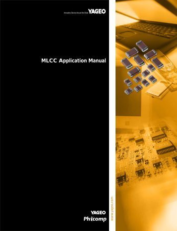 MLCC Application Manual - Yageo