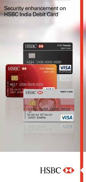 Security Enhancement On Your Hsbc India Debit Card