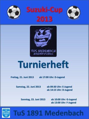 Suzuki-Cup 2013 - TuS Medenbach