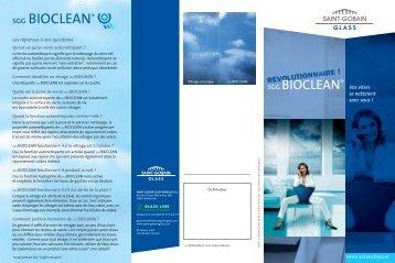 téléchargez le PDF - Verre Autonettoyant : SGG BIOCLEAN