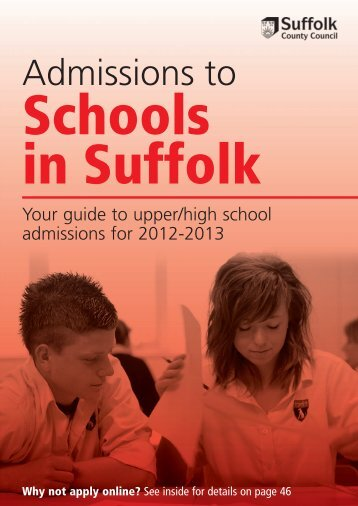 2012-13FinalProofSISSECONDARYlowres - Suffolk County Council