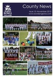 Issue 10: November 2013 - Bowls England