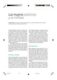 Las mujeres palestinas y la Intifada - IEMed