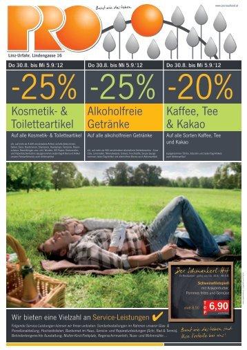 25% - Pro Kaufland
