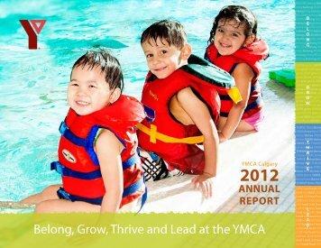 Annual Report 2012 - YMCA Calgary