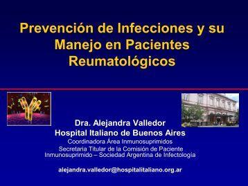 Prevención de infecciones y manejo en pacientes reumatológicos
