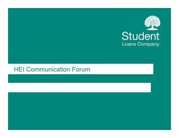 HEI Communication Forum - HEI Services