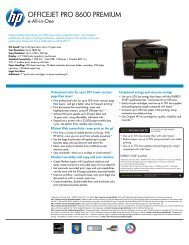 HP Officejet Pro 8600 Premium e-All-in-One Printer