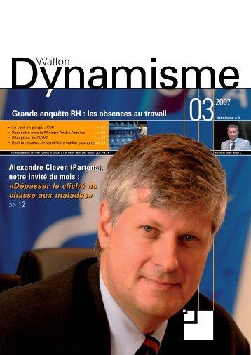 Alexandre Cleven - Union Wallonne des Entreprises