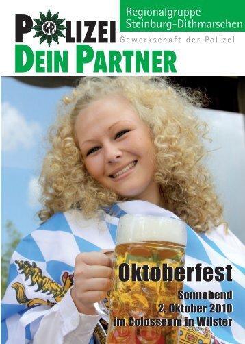Oktoberfest Oktoberfest - bei Polizeifeste.de