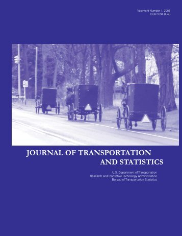 journal of transportation and statistics - Research and Innovative ...
