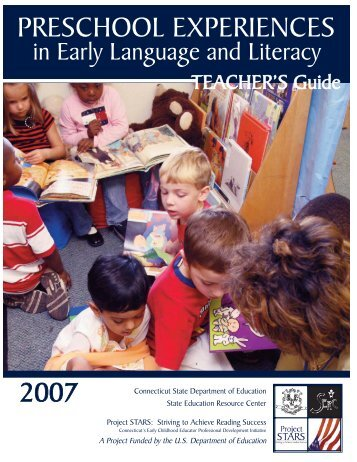 Preschool Experiences in Early Language and Literacy: Teacher's