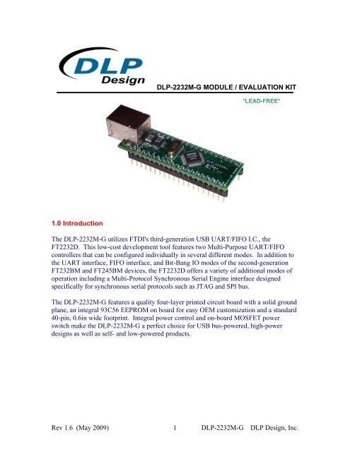 DLP-2232M-G - FTDI