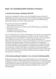 Regler for affaldssortering i Københavns kommune