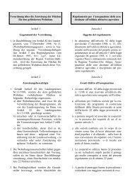 Verordnung Zuweisung geförderter Wohnbau (119 ... - Gemeinde Nals