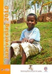 Klik hier om het Jaarverslag 2010 te bekijken - Stichting Weeshuis ...