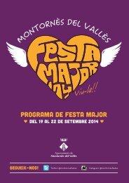 PROGRAMA FM2014 MONTORNES