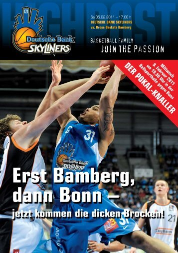 9. februar - Fraport Skyliners