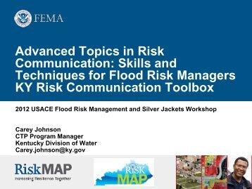 Advanced Topics in Risk Communication: Skills and Techniques for ...