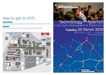 How to get to EPFL - Quantis