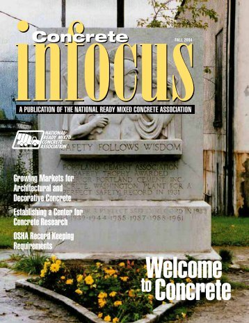 Fall 2004 - National Ready Mixed Concrete Association