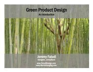 Green Product Design