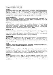 Ciągnik CASE IH CVX 175 - Tech-Kom