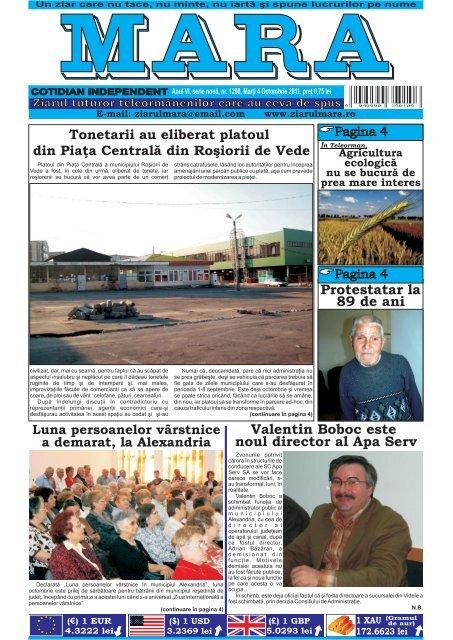 Descarca nr. 1298 - Ziarul Mara