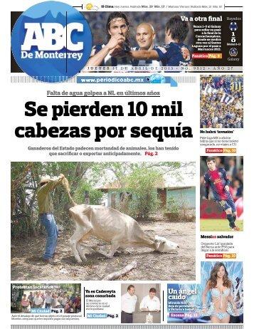 Se pierden 10 mil cabezas por sequía - Periodicoabc.mx