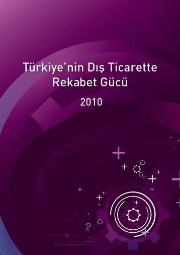Türkiye'nin Dış Ticarette Rekabet Gücü - REF - Sabancı Üniversitesi
