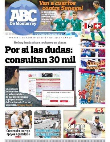 por la conducción - Periodicoabc.mx