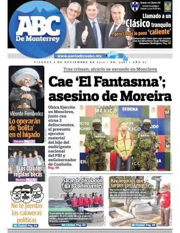 Cae 'El Fantasma'; asesino de Moreira - Periodicoabc.mx