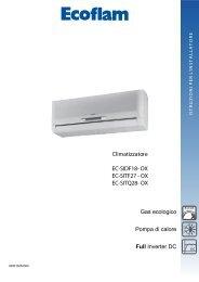 Manuale installatore MULTI FULL INVERTER - Elco Ecoflam
