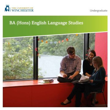 BA (Hons) English Language Studies - University of Winchester