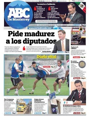 Pide madurez a los diputados - Periodicoabc.mx