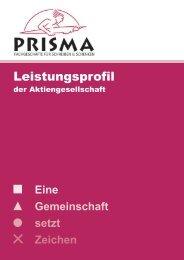 Eine Gemeinschaft setzt Zeichen - Prisma