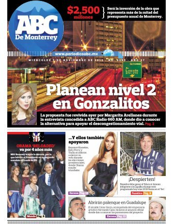 Planean nivel 2 en Gonzalitos - Periodicoabc.mx