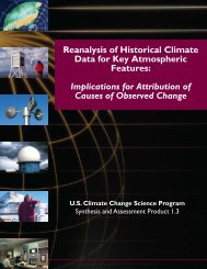 Reanalysis of Historical Climate Data for Key Atmospheric Features