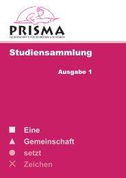 Studiensammlung - Prisma