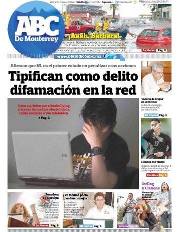 Tipifican como delito difamación en la red - Periodicoabc.mx