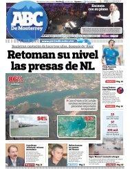 Retoman su nivel las presas de NL - Periodicoabc.mx
