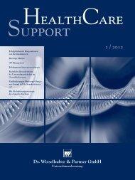 W&P HSC Support.indd - Dr. Wieselhuber & Partner GmbH ...