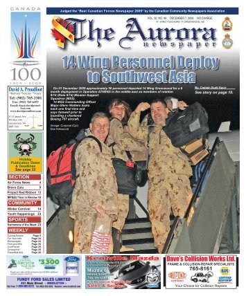 Dec 7 2009 - The Aurora Newspaper