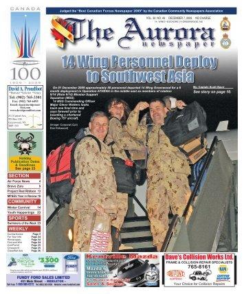Dec 7 2009 - The Aurora Newspaper