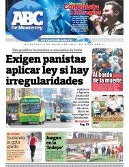 Exigen panistas aplicar ley si hay irregularidades - Periodicoabc.mx